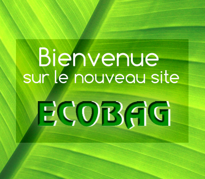 Visuel : Welcome on our new website Ecobag !