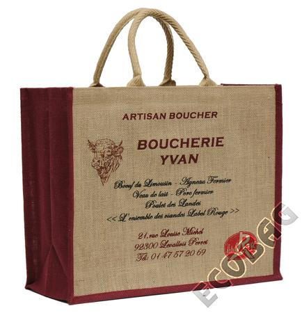 Sales of Sacs en jute Boucheries / Charcuteries