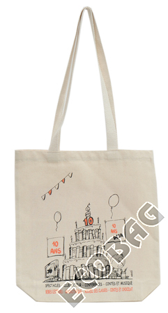 Sales of Media Library cotton bags