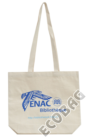 Sales of Organic Cotton bag for Library