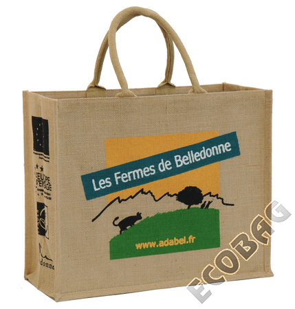 Sales of Cabas jute Magasin Fermes