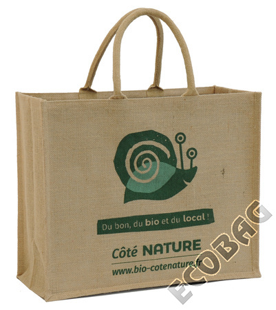 Sales of Sac toile jute Magasin Bio