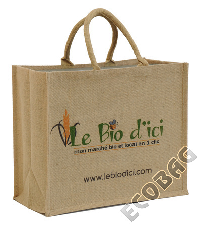 Sales of Sac toile de jute magasin Bio