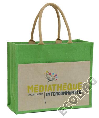 Sales of Sacs en jute Médiathèques