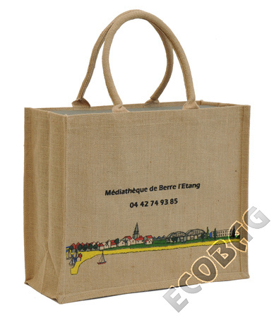 Sales of Library jute bag