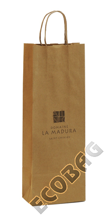 Sales of Kraft paper bag for bottles