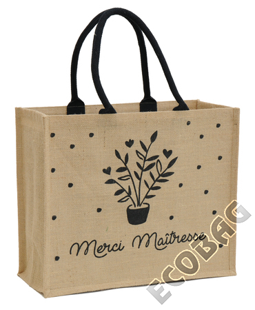 Sales of Sac jute Cadeau Maitresse