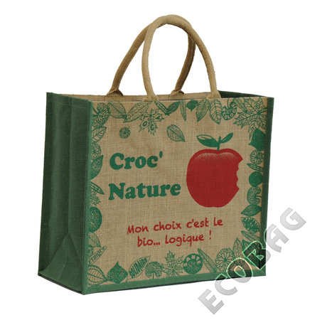 Sales of Sacs jute Magasin Bio